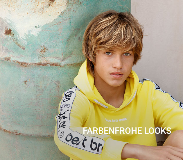 Farbenfrohe Looks
