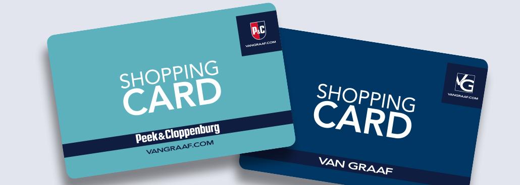 a3886e21ac19a2 Shopping Card – Die Geschenkkarte von P C  und VANGRAAF.COM